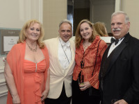 2013 Exec. Director Maria Russo with honorees Anthony Laciura, Susanne Mentzner and Chairman Dr. Robert Sataloff