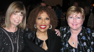 Joan Lader, Roberta Flack and Edrie Means Weekly
