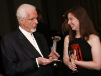 2010 honoree Peter Nero and then Exec. Director Kathryn Murphy