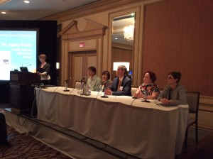 Panel - The Aging Voice: You're Only As Old as You Sound. Nancy Pearl Solomon, Christian Sell, Karen Kost, MD, Michael M. Johns, MD, Darah Kagan, Edie Hapner
