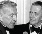 1995 The Odd Couple reunited at the 2001 Gala: Jack Klugman, Voice Foundation Board Member, and Tony Randall, then President of TheVoice Foundation.
