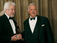 2011 honoree Dr. Barry Bittman and Dr. Robert Sataloff, Chairman
