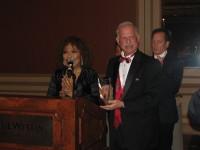 2014 Honoree Roberta Flack and Chairman Dr. Robert Sataloff