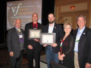 Photo:Dr. Robert Sataloff, Matthew Schloneger, Matthew Edwards, Linda J. Snyder, Allen Henderson