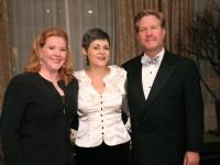 2009 VERA Awardee Ruth Ann Swenson, Margaret Baroody, David Burnikis