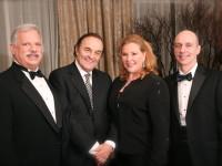 2009 Dr. Robert Sataloff with honorees Charles Dutoit, Ruth Ann Swenson, Richard Horman, MD
