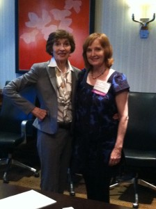 Lucille Rubin and Donna Snow