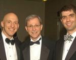 Adam D. Rubin, M.D.; Norman Hogikyan, M.D.; and Lifetime member Michael M. Johns, III, M.D.
