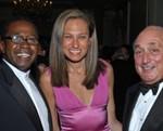 2006 VERA Award recipient Ben Vereen;  Board member, Gwen Korovin, M.D.; TVF President, Leon Fassler