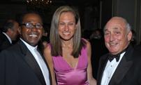 VERA Award recipient Ben Vereen;  Board member, Gwen Korovin, M.D.; TVF President, Leon Fassler