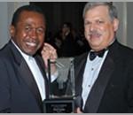 2006 Ben Vereen receives the 2006 VERA from Chairman, Robert T. Sataloff, M.D