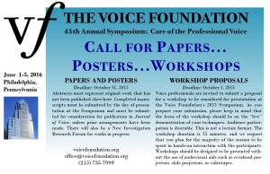 Call for Papers 2016